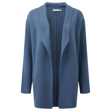Adini Spring Wool Alessio Coat - Dusky Blue