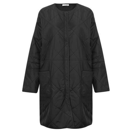 Masai Clothing Tammi Oversize Coat - Black