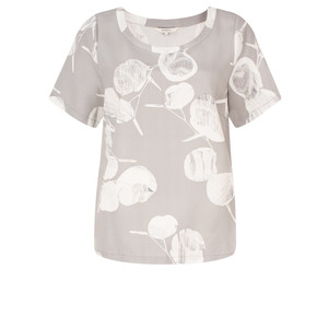 Sandwich Clothing Woven Floral Print Top