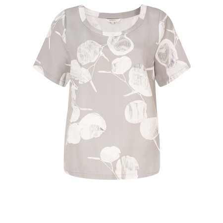 Sandwich Clothing Woven Floral Print Top - Off-white