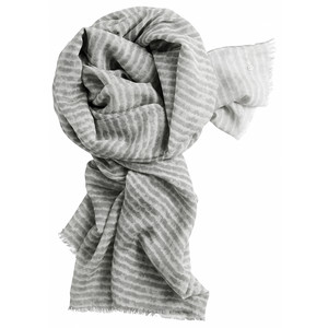Sandwich Clothing Silk & Wool Mix Stripe Scarf