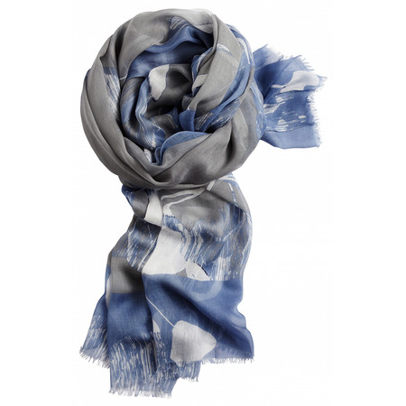 Sandwich Clothing Floral Print Woven Scarf - Off-white