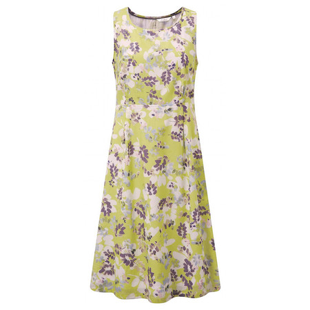 Adini Florida Print Belleair Dress - Green