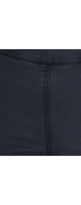 Sandwich Clothing Essential Stretch Side Zip Tregging Navy