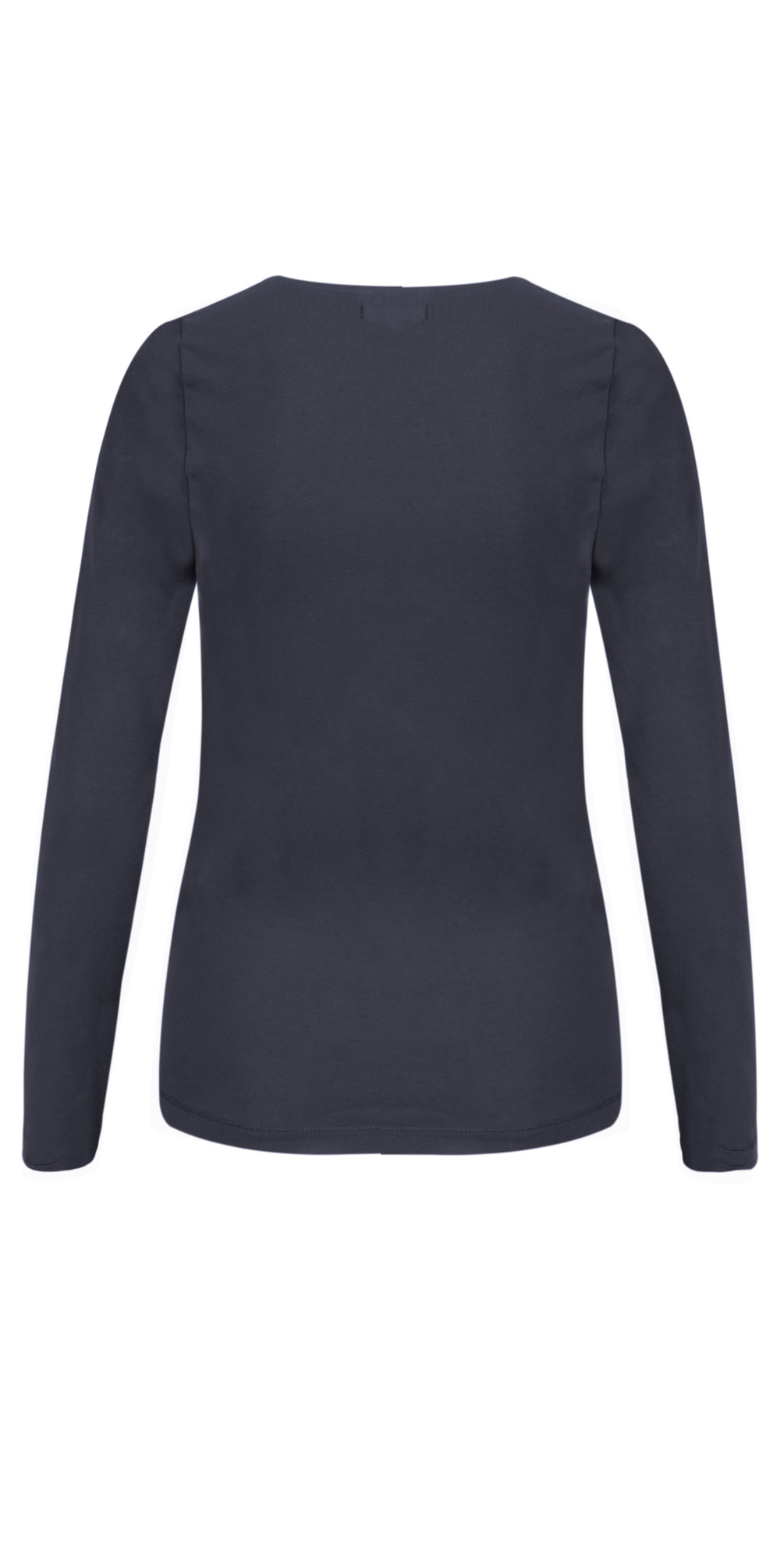 Essentials Long Sleeve Stretch Cotton Jersey Top main image