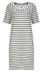 Sandwich Clothing Lily White Textured Stripe Jersey Dress