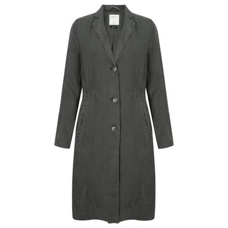 Sandwich Clothing Longline Linen Jacket - Grey