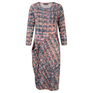 Sahara Diamond Print Jersey Dress