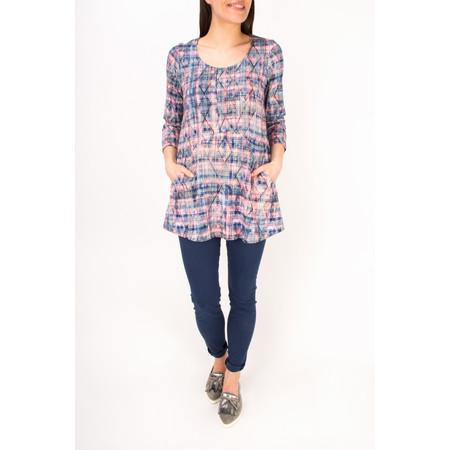 Sahara Diamond Print Jersey Tunic - Multicoloured