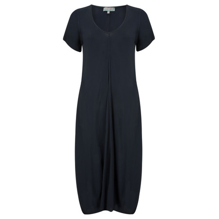 Sahara Crepe Bubble Dress - Blue