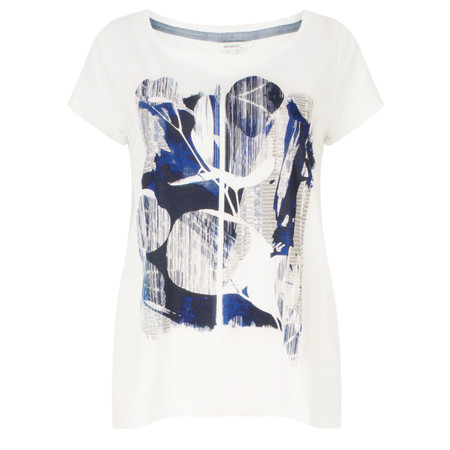 Sandwich Clothing Abstract Print Jersey T-shirt - Blue