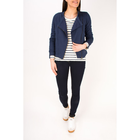 Sandwich Clothing French Terry Cotton Jacket - Blue