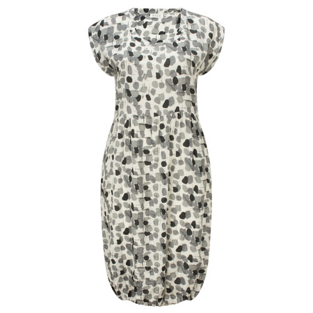 Masai Clothing Obella Print Dress - Grey