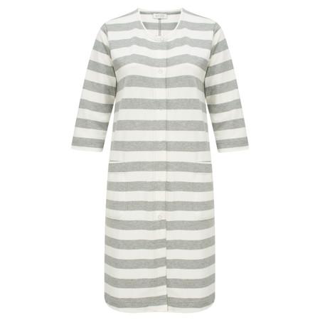 Masai Clothing Italis Stripe Jacket  - Grey