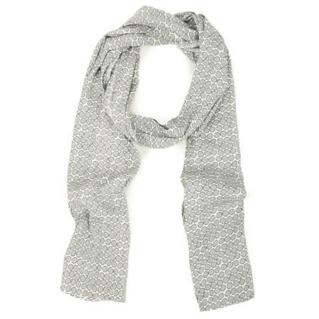 Masai Clothing Along Print Scarf - Grey