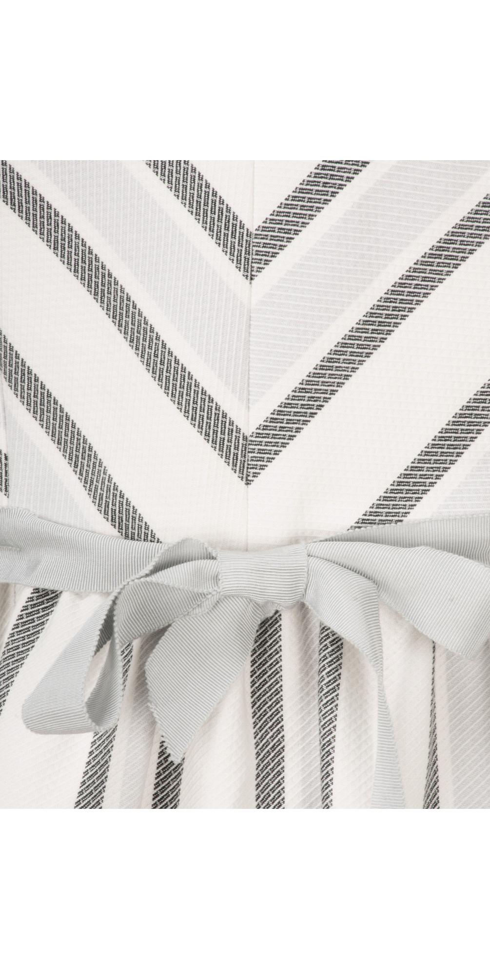 Sofia Stripe Dress main image