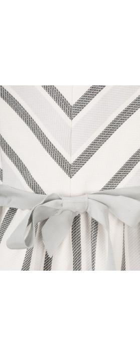 Great Plains Sofia Stripe Dress Latte cream