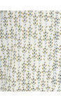 Sandwich Clothing Lily White Lotus Woven Patterned Blouse