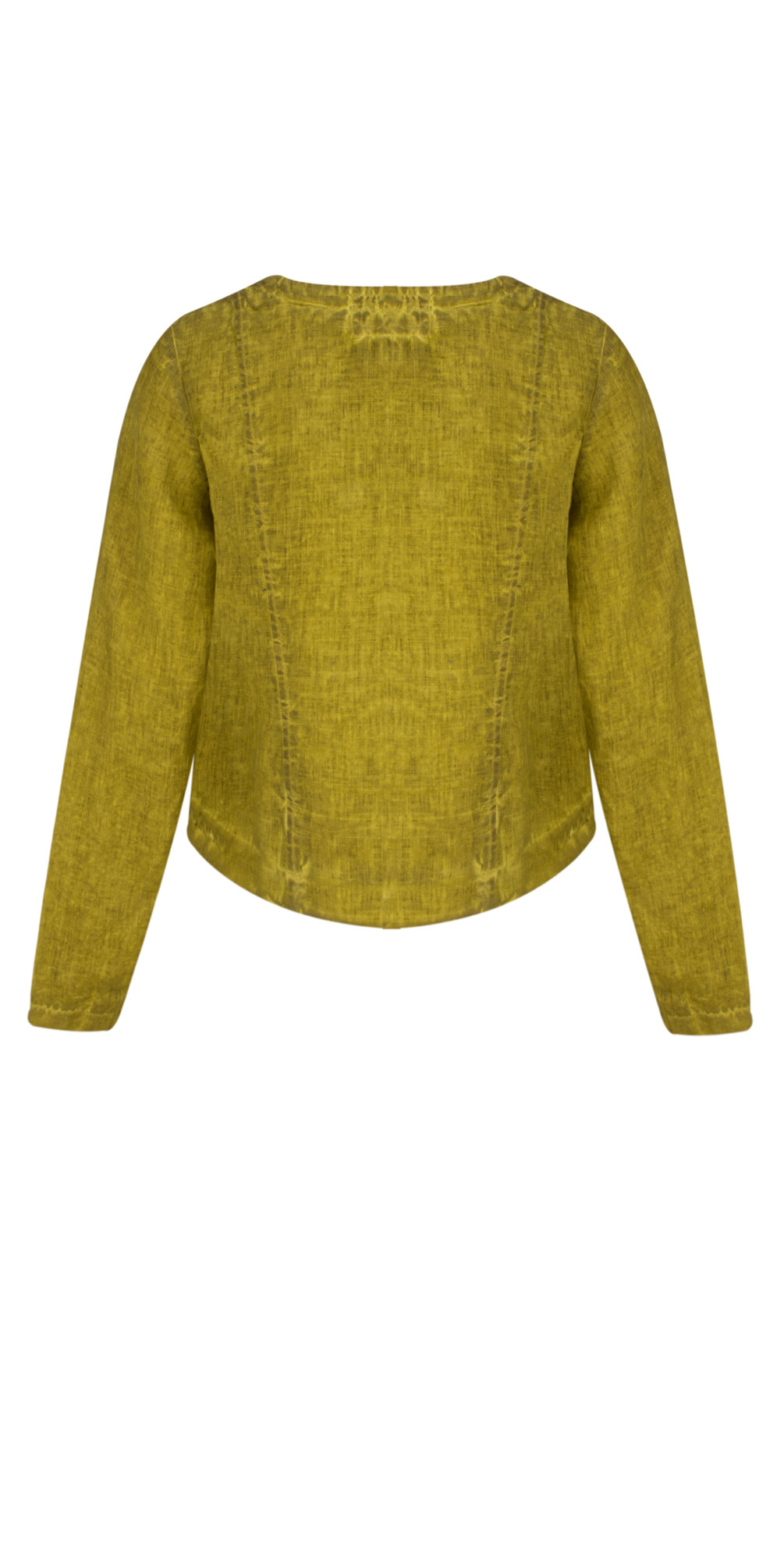Oliato Linen Short Button Detail Jacket main image