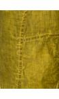 Grizas 329 Dirty Lime Linen Seam Detail Easyfit 7/8 Trouser