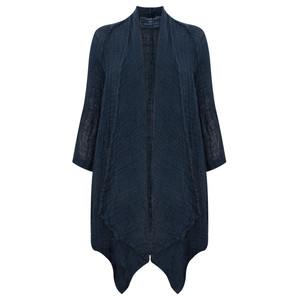 Grizas Linen Knit Oversize Cardi