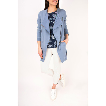 Sandwich Clothing Longline Long Sleeve Jacket - Blue