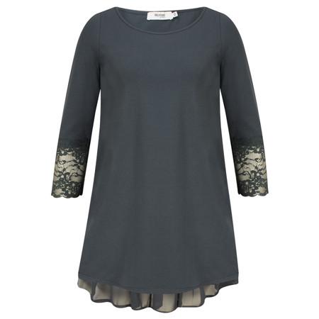 Myrine Thais 3/4 Sleeve Top - Ink Blue