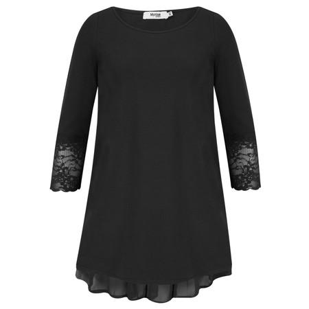 Myrine Thais 3/4 Sleeve Top - Black