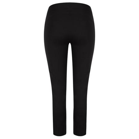 Myrine Eliot Comfort Cotton Trouser - Black