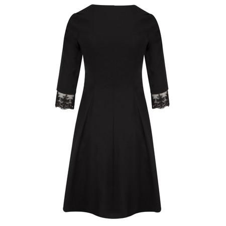 Myrine Elise Comfort Cotton Dress - Black