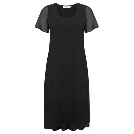 Myrine Taylor Jersey Dress - Black