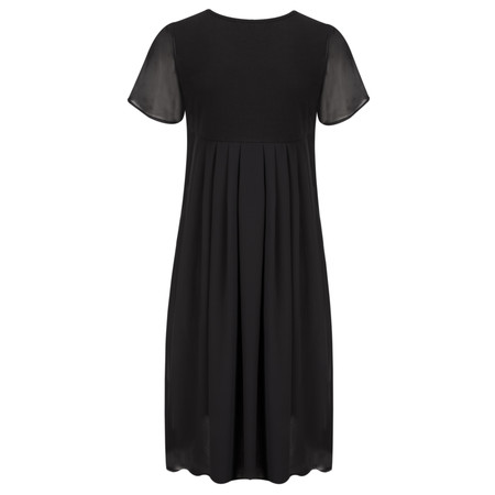 Myrine Taylor Jersey Dress - Black