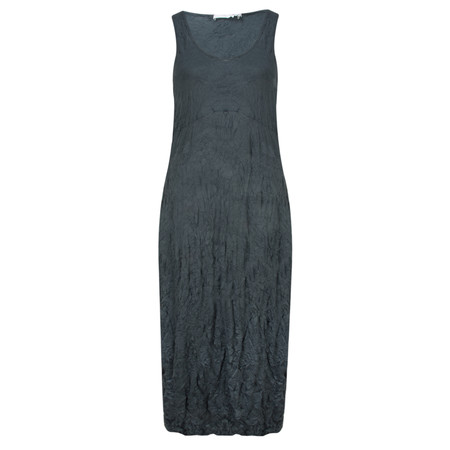 Lauren Vidal Vintage Collection Crinkle Dress - Blue