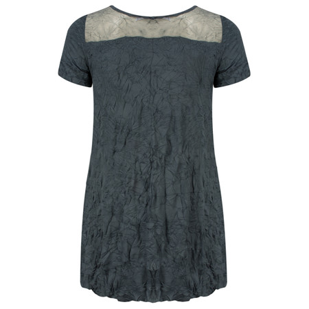 Lauren Vidal Vintage Collection Crinkle Top - Blue