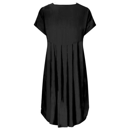 Masai Clothing Nava Relaxed A-Line Dress - Black