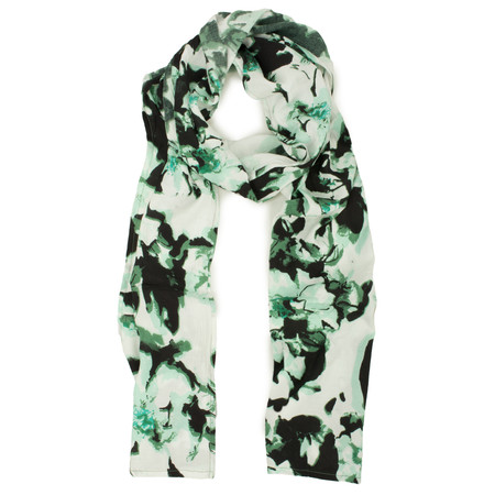 Masai Clothing Along Lotus Flower Scarf - Green