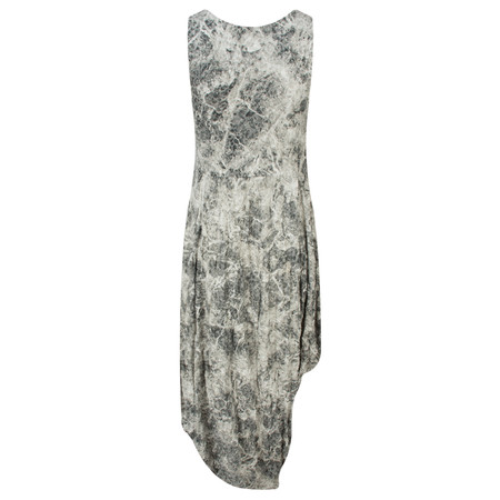 Lauren Vidal Vintage Collection Marble Crinkle Dress - Grey
