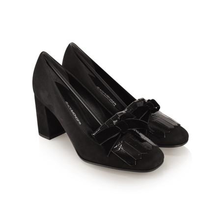 Kennel Und Schmenger Karen Fringe Classic Lofa Shoe - Black