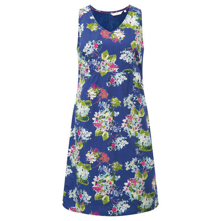 Adini Kew Print Richmond Dress - Blue