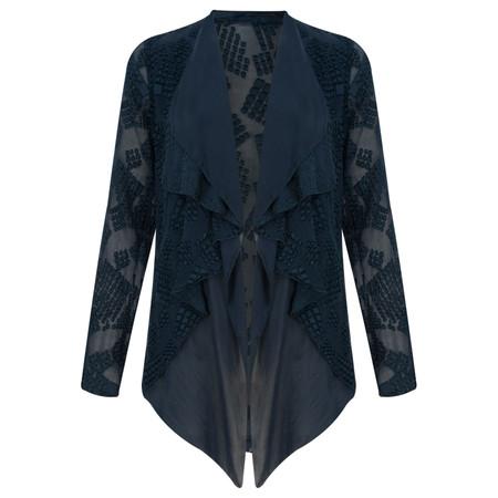 Grizas Silk Devoree Jacket - Blue