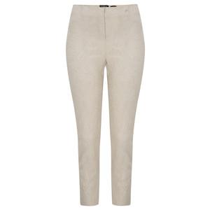 Robell Trousers Rose 09 Jacquard Slimfit 7/8 Trouser