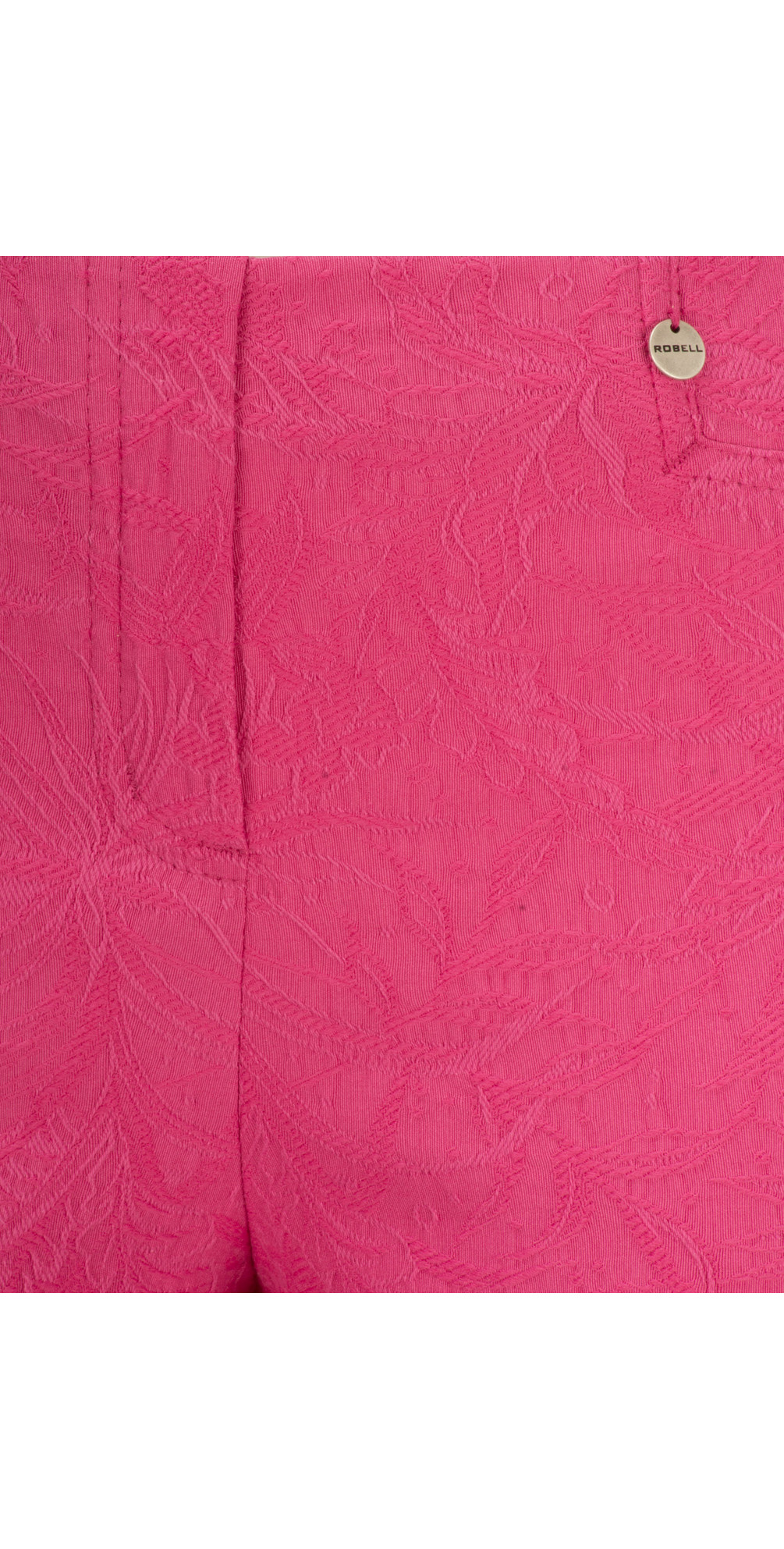 Rose 09 Jacquard Slimfit 7/8 Trouser main image