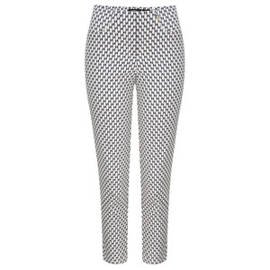 Robell Trousers Bella 09 Graphic Print