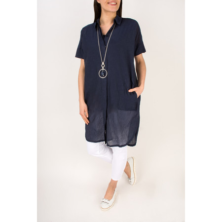 Masai Clothing Iga Light Blouse - Blue