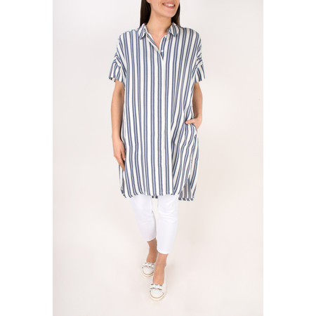 Masai Clothing Iga Blouse  - Blue