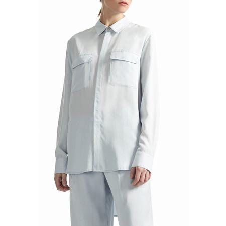 Great Plains Timed Out Tencel Shirt - Lido Blue