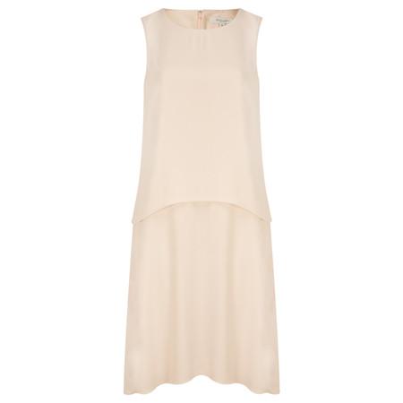 Great Plains Megan Crepe Double Layer Dress - Pink