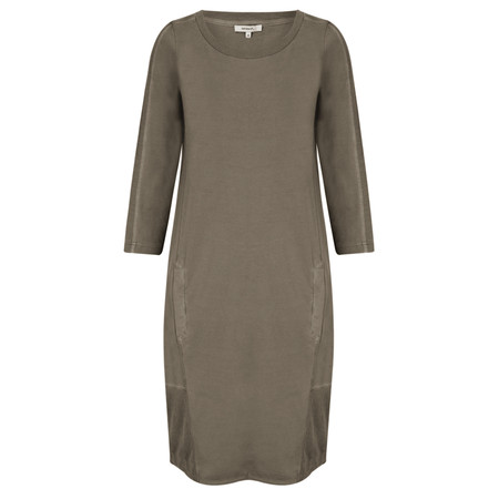Sandwich Clothing Essential Cotton Jersey Dress - Brown