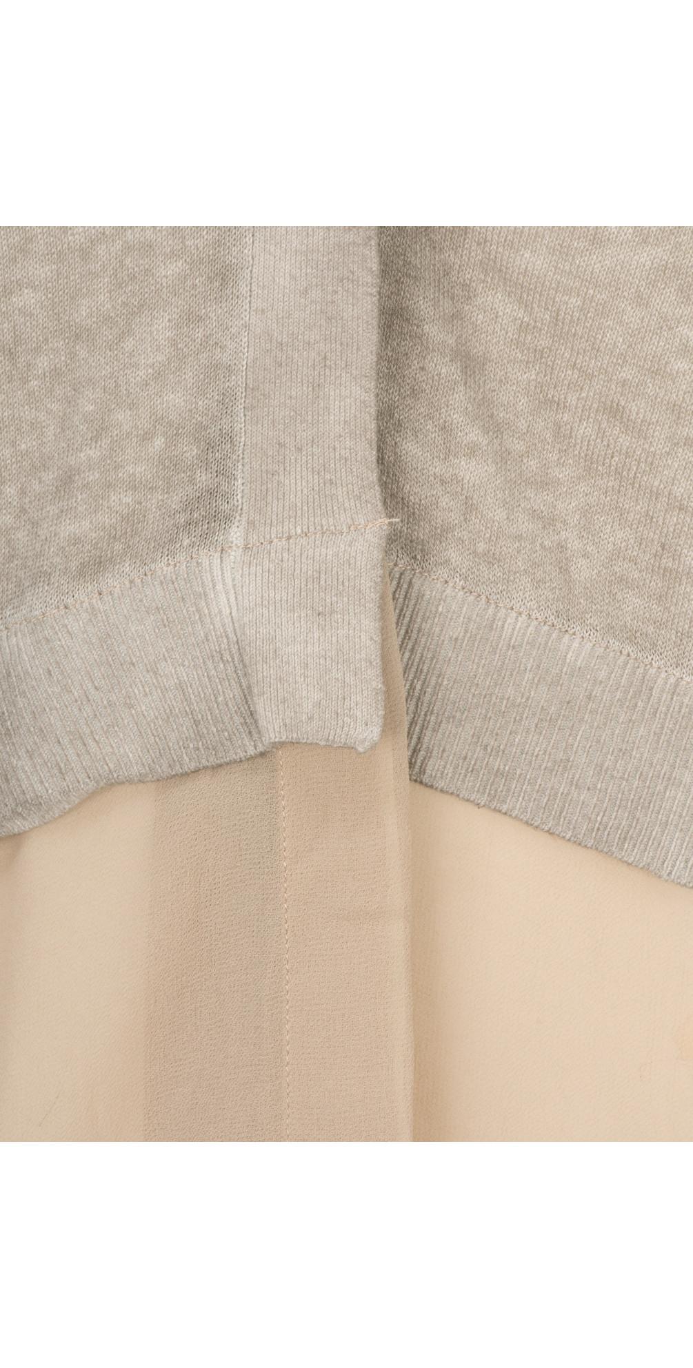 Long Sleeve Linen Longline Cardigan main image