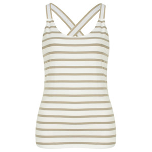 Sandwich Clothing Essentials Stretch Cotton Stripe Jersey Vest